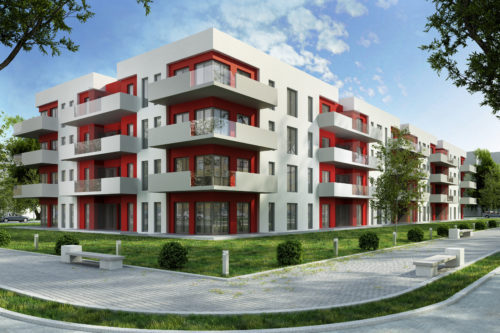 External insulation for apartments